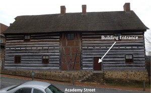 Old Salem Single Brothers Workshop - View from Academy