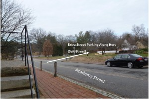Old Salem Single Brothers Workshop - Extra Street Parking